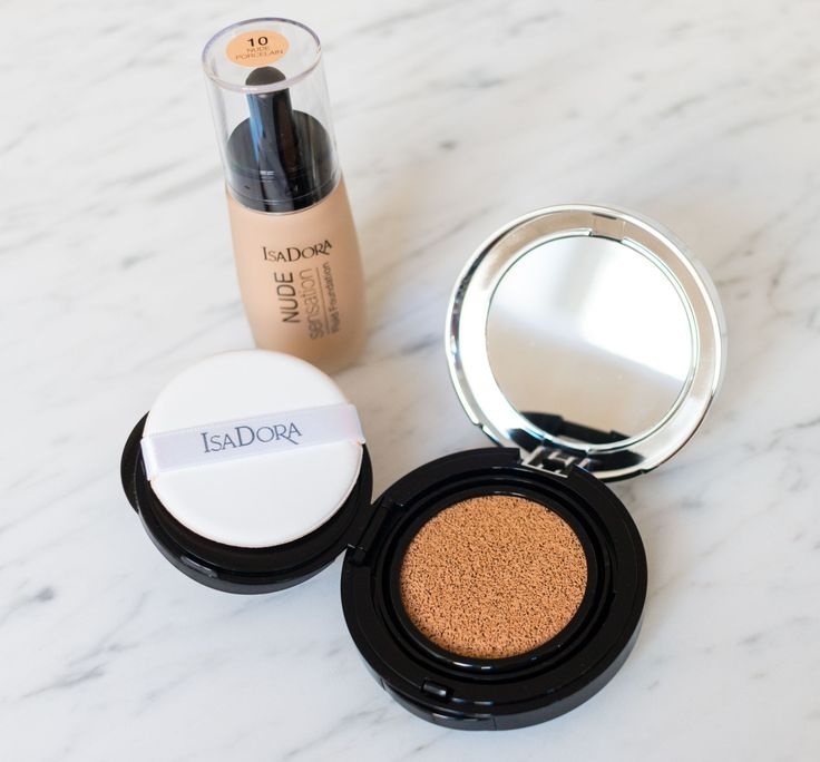 The perfect combo - just drop and refill! http://www.isadora.com/global/inspiration/2015/10/01/nude-cushion-foundation-before-after/