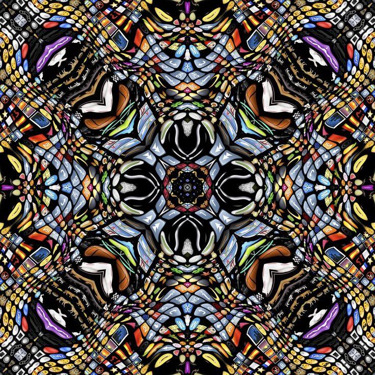 Современные технологии в нестандартной роли: рулонные ковры из коллекции broadloom - Dazzling Dialogues. Дизайн: Noortje van Eekelen. Представлен в трёх вариантах орнамента. Размер: ширина - 400 см, длина не ограничена!