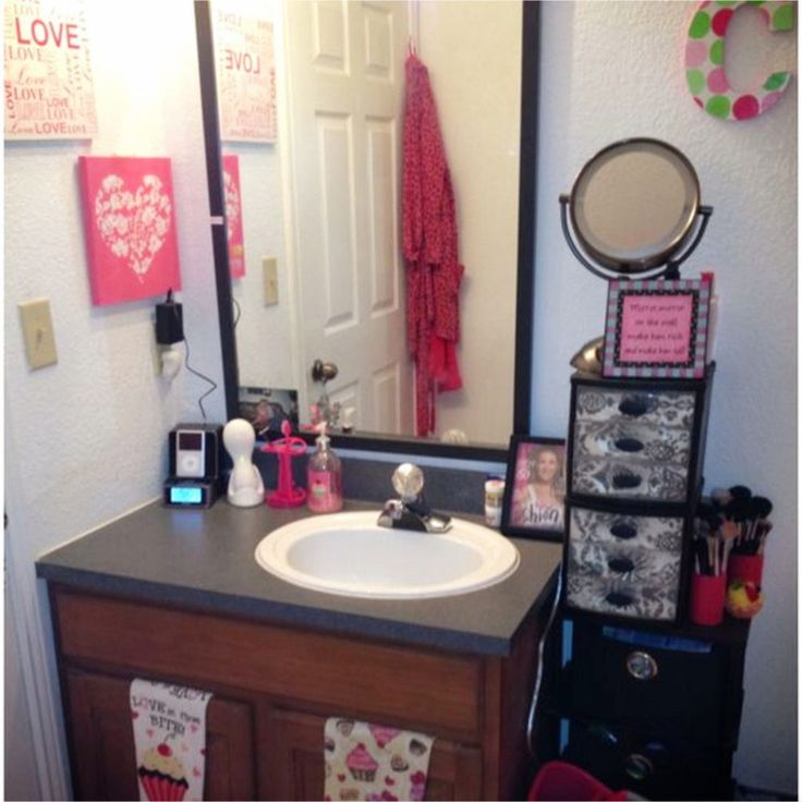 College Dorm Bathroom Ideas   College Bathroom Decorating Ideas, DIY Dorm  Bathroom Decor, Cute