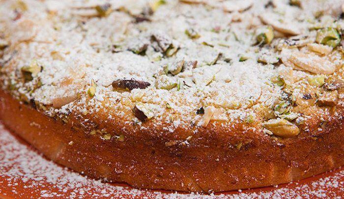 Ricotta Lime and Almond Cake - Good Chef Bad Chef