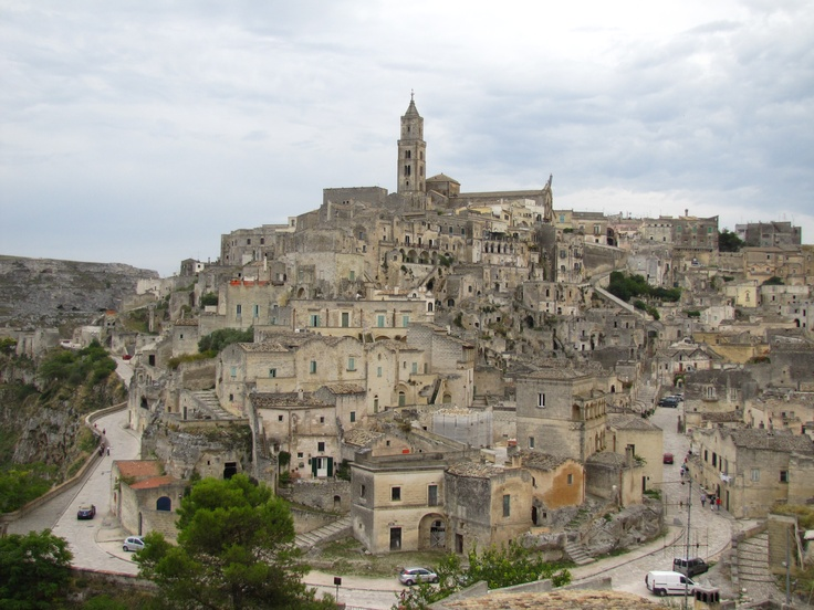 The old town of Matera, Basilicata, Italy.