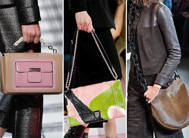 Fall/ Winter 2015-2016 Handbag Trends: Chain Strap Handbags: