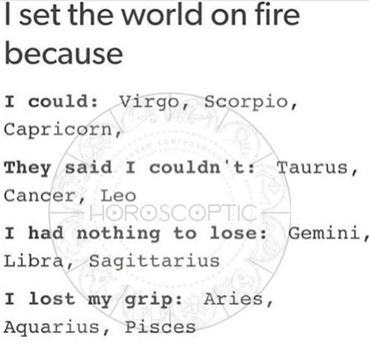 Sounds like something like I would do #Aquarius ♒