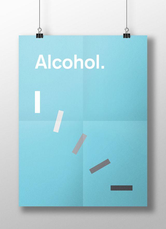 Meaghan Li || This is your brain on drugs: Alcohol || http://www.meaghanli.com/