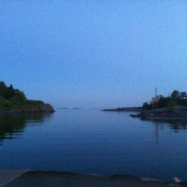Blue hour, Merisatama