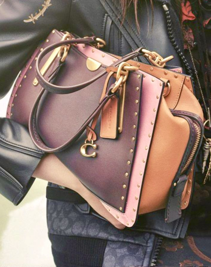 65180f616 Coach 2018/2019   Bags, totes, and clutches in 2019   Leather bags ...