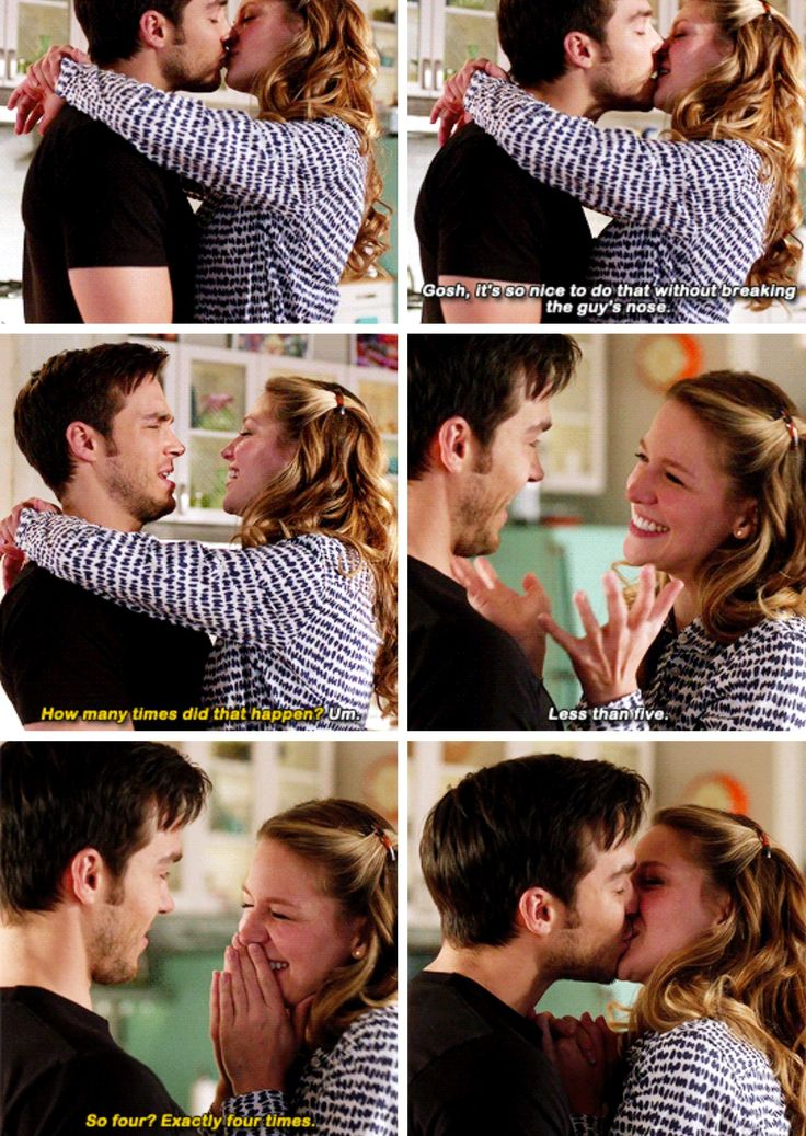 """""""It's no nice to do that without breaking a guys nose"""" - Kara and Mon-El #Supergirl"""
