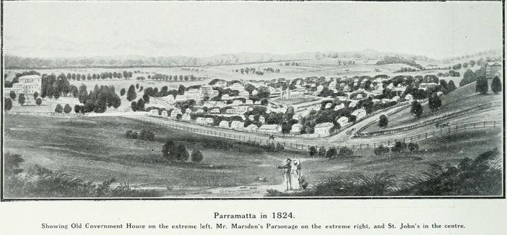 Parramatta NSW in 1824