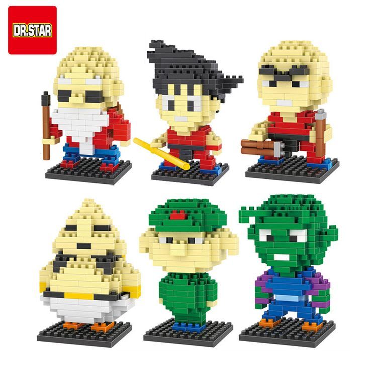 10 Gaya Dragon Ball Z Mainan Building Block Aksi Angka Son Goku Master Roshi Piccolo Vegeta Frieza Anime Mainan Oolong Karrin