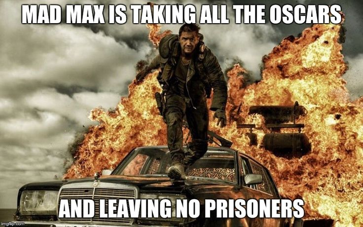 You have GOT to see these Mad Max Oscars memes. The movie was a big winner for the night!