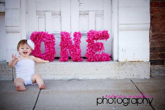 awwPhotos Ideas, 1St Birthday Props, 1St Birthday Photos, Hot Pink, Photo Props Baby, Baby Photography Smile Click, Photos Props, 1St Birthdays, Photography With Letters