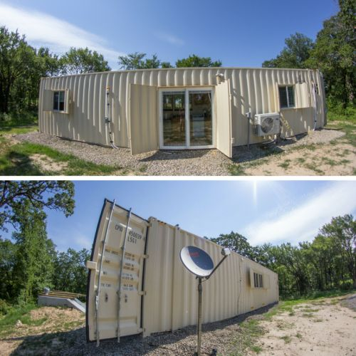 Best 25+ Shipping Container Cabin Ideas On Pinterest