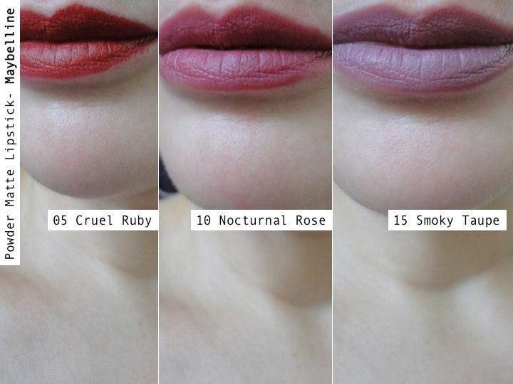 Powder Matte Lipstick De Maybelline Esos Raros Colores Nuevos Maybelline Maquillaje Belleza