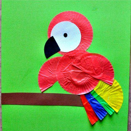 25 Beautiful Brazil Inspired Crafts For Kids Parrot