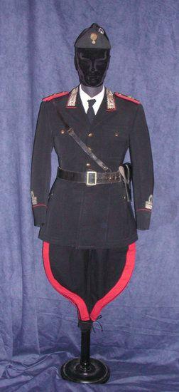 maggiore dei carabinieri 1934 uniforme da marcia.