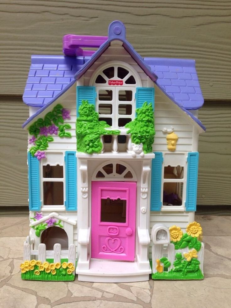 Fisher Price Loving Family Sweet Streets Cottage 2000