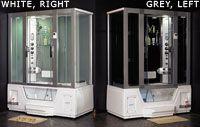 AQUA 2 STEAMDUSJ/BOBLEBAD GL-1790 R/L fra Sparmax. Om denne nettbutikken: http://nettbutikknytt.no/sparmax/