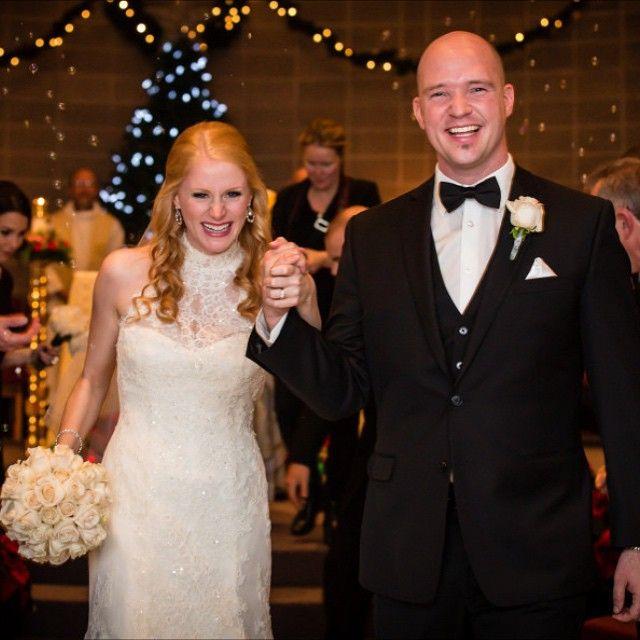 Black & White Winter Wedding | thedomesticblonde.com