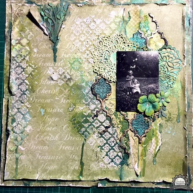 Couture Creations: Vintage Mixed Media by Tina Connolly