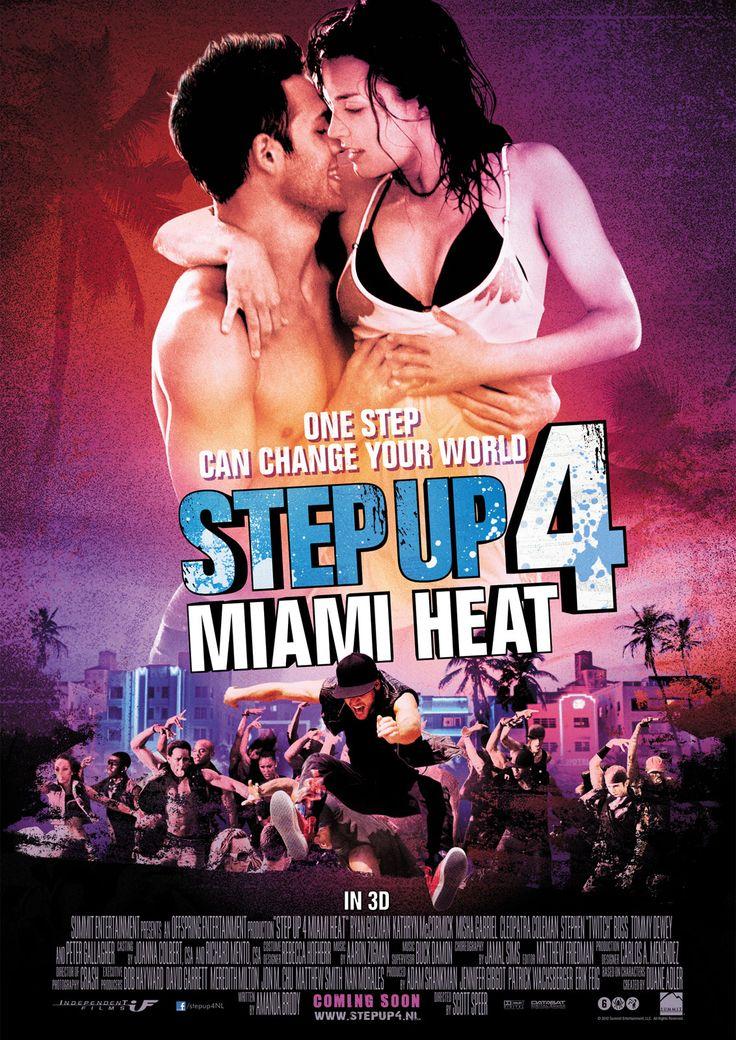 Film* 2012 - Step Up 4 Miami Heat - Dansen is leuk, maar niet zo leuk dat ik het kan verdragen om na 12 minuten nog geen fatsoenlijke dialoog gezien te hebben. Afgezet dus. Step up 1, Honey, Dirty Dancing, Footloose en Save the Last dance blijven dan beter.