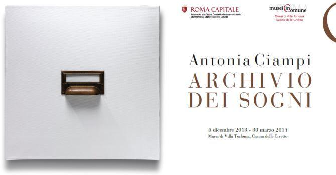 """""""Antonia Ciampi. Archivio dei sogni"""" alla Casina delle Civette - Musei di Villa Torlonia dal 5 dicembre 2013 al 30 marzo 2014: http://bit.ly/18aZ6YL"""