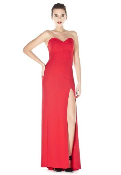 Straplez Elbise - Yılbaşı Özel