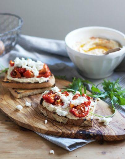 6 Recetas de tostadas, sandwiches y pizzas con Humus