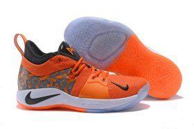 f43aa8d194cf Creative Nike Paul George PG 2 PE Against The Lakers Orange Black Men s  Basketball Shoes Male Sneakers