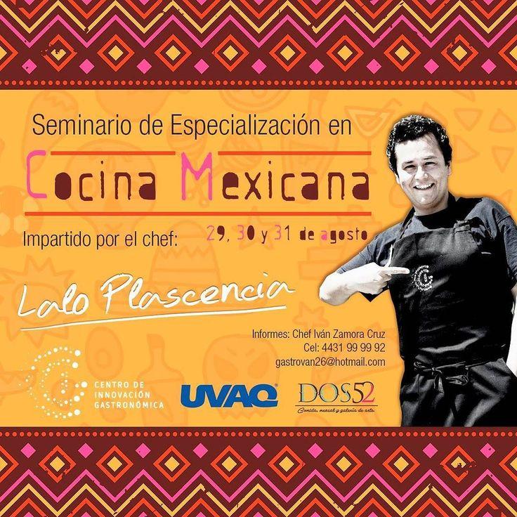 Próximo seminario a impartirse en #Morelia! 29 al 31 de agosto en la @uvaq.ch