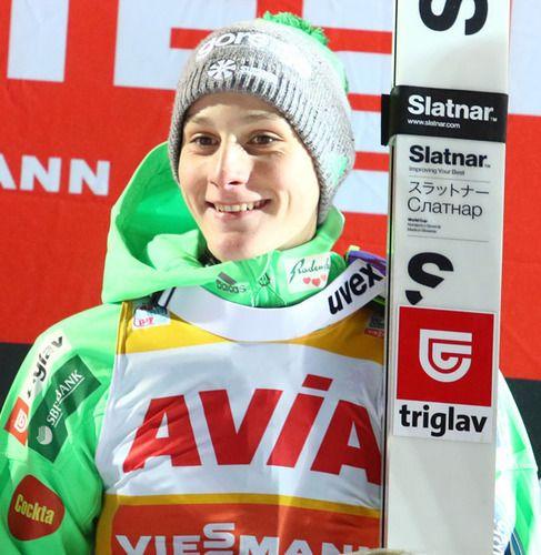 Domen Prevc wygrywa w Lillehammer