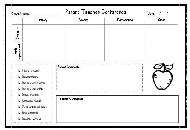 Parent teacher interviews - Teacher's Marketplace, the online marketplace for teachers, by teachers, with original educational digital resources, lesson plans, worksheet, printables and more!