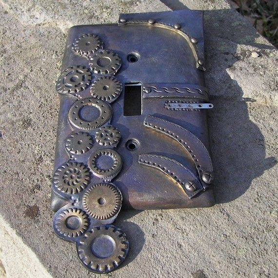 Light Switches Steampunk And Light Switch Covers On Pinterest