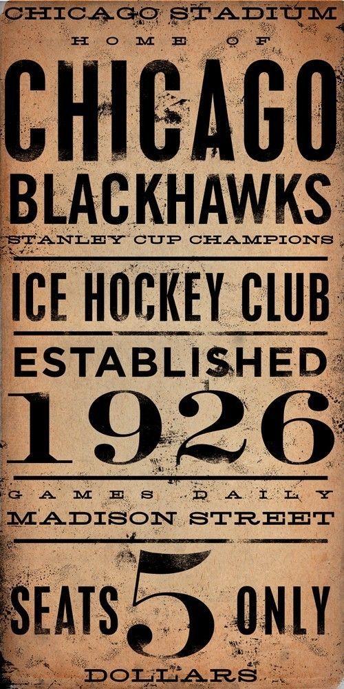 CHICAGO BLACKHAWKS hockey club original graphic by geministudio