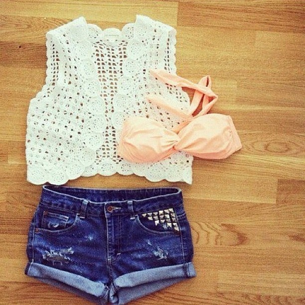 Sooo Cute Fashion Style Weheartit Tumblr Fashionista Outfit Bikini Pink Cute Sweet