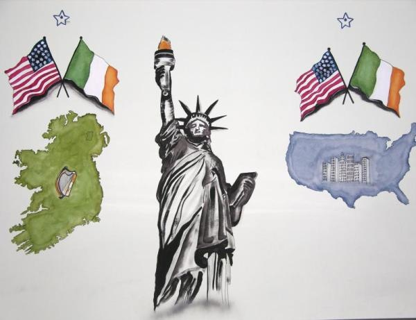 The irish-American anti-British stance came from the belief that Britain should have done more to relieve the suffering of the Irish during the famine. Some commentators argued that Britain's policy of laissez-faire in Ireland (not supplying sufficient emergency food supplies) was genocide. These opinions were carried by the Irish famine immigrants to their new homeland in the USA, where they were passed down through the generations almost as folk-lore having immense political influence.
