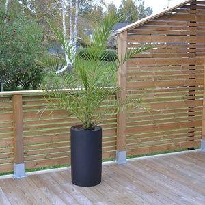 Bild på staket - Trädgård baksida. Altanbygget av Ammi