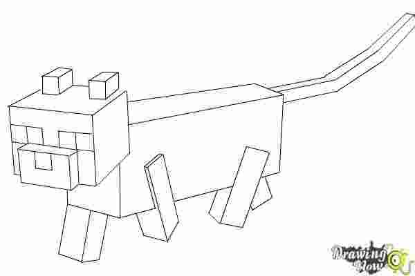 Coloring Pages Coloring Pages Minecraft Cat Skin New 78