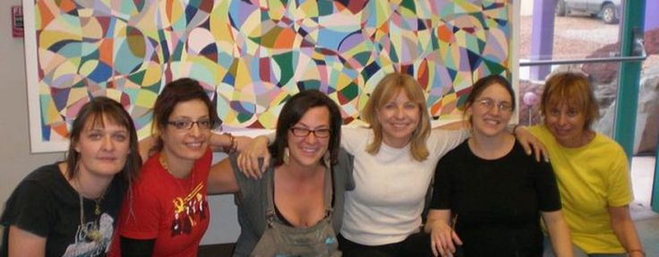 » M.A. in Art Therapy/Counseling: Students with their Capstone Mural....(Watch the sliders go by!)  http://swc.edu/degree-program-intro/ma-in-art-therapycounseling/