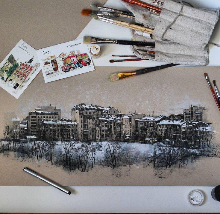 Sanatlı Bi Blog Sonbahar ve Kış Mevsimini En İyi Anlatan 11 Sevimli Çalışma 7