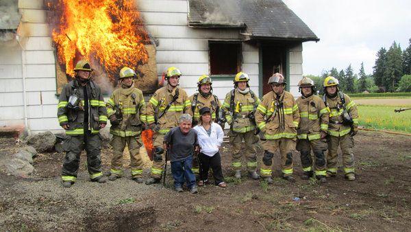 Matt Roloff, Amy Roloff and the Hillsborough Fire Department in Little People, Big World