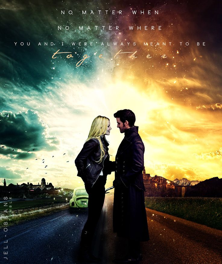 Once Upon a Tim... Once Upon A Time Wallpaper Captain Swan