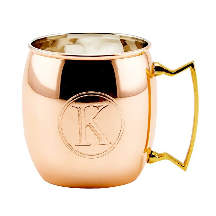Old Dutch Moscow Mule Solid Copper 16 Oz. Mug & Reviews | Wayfair