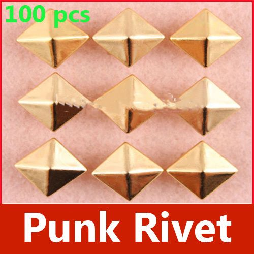 Find More Garment Rivets Information about New 100PCS 7mm DIY Baoxie Clothing Accessories Punk Square Rivet,High Quality accessorial,China accessories in new york Suppliers, Cheap accessories for baby girls from Dollar Store on Aliexpress.com