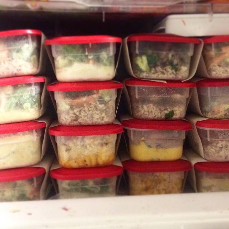 Como congelar 10 marmitas prontas para a semana feitas em 1 dia | A casa encantada