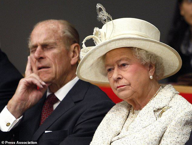 The Queen Elizabeth and the Duke at the London School of Economics and Political Science i...