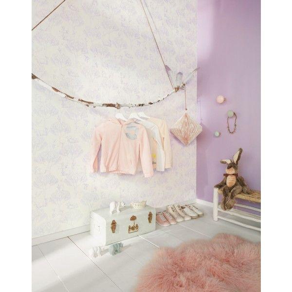 25 best ideas about papier peint chambre enfant on - Papier peint chambre bebe ...