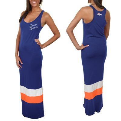 '47 Brand Denver Broncos Ladies Maxi Dress - Navy Blue