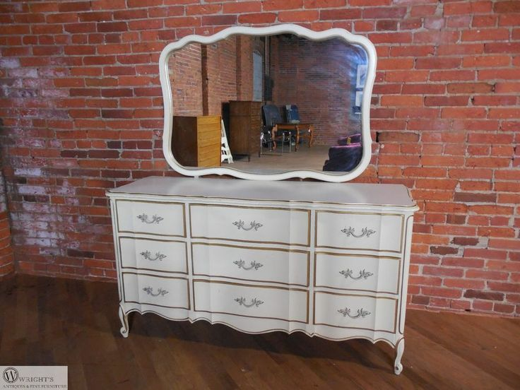 Vintage Dixie French Provincial Style 9 Drawer Dresser with Mirror - 32 Best Dixie Dressers/pieces Images On Pinterest Dressers