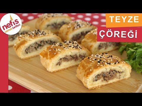 Teyze Çöreği - Çörek Tarifleri - Nefis Yemek Tarifleri - YouTube