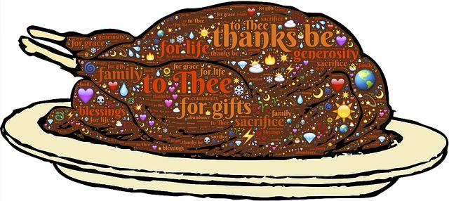Turquie, Volaille, Action De Grâces, Merci, Gratitude